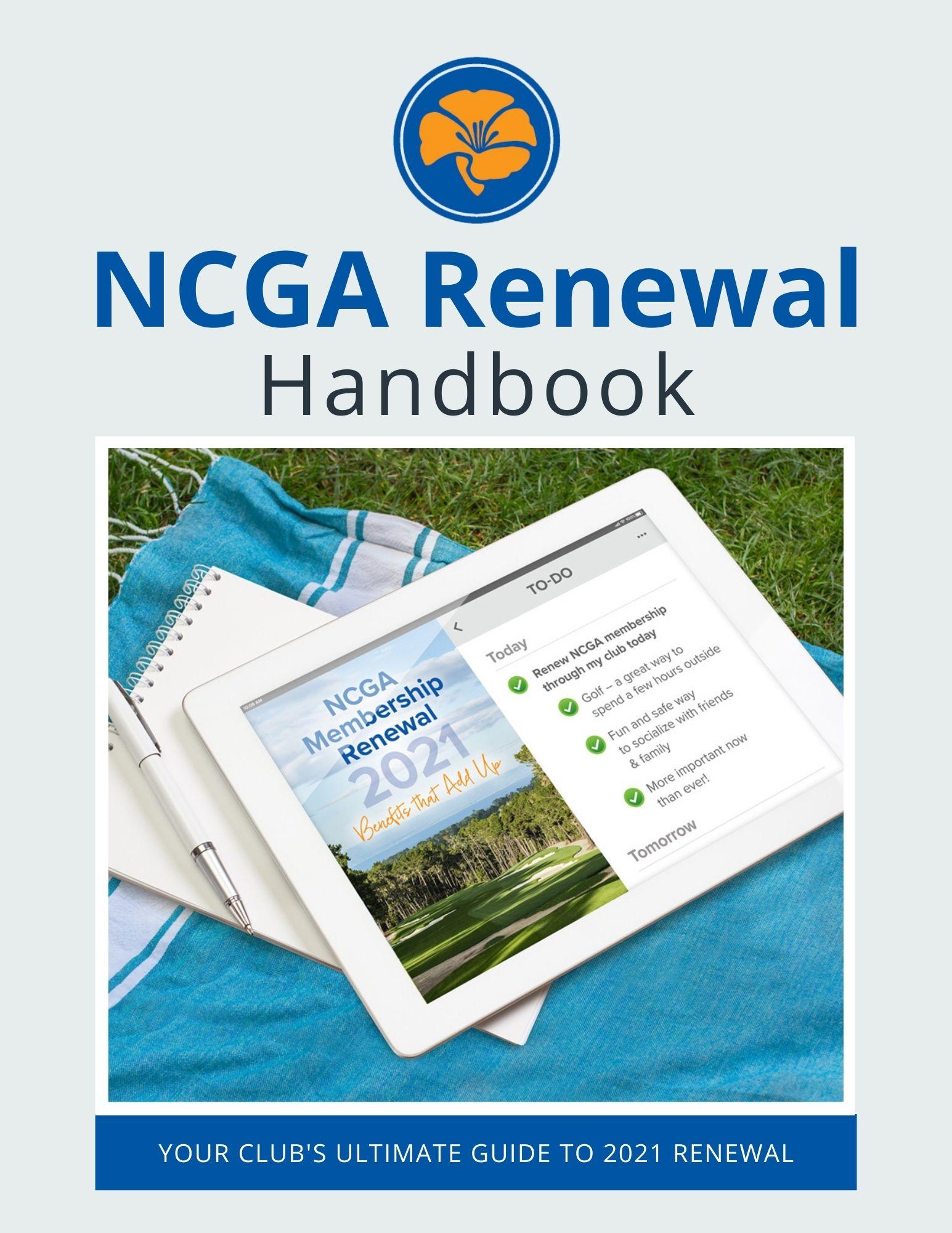 NCGA Renewal Handbook